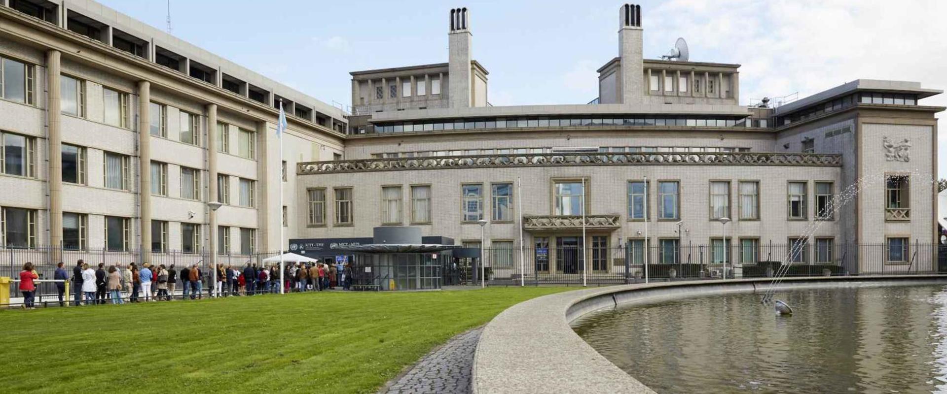 Rijksvastgoedbedrijf neemt gebouw Joegoslavië Tribunaal over